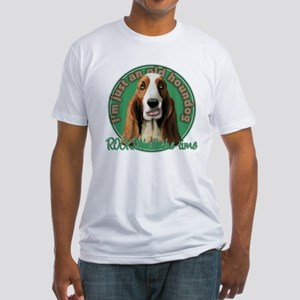 Nothin' but a Houndog Fitted T-Shirt