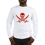 Pirates Red Long Sleeve T-Shirt