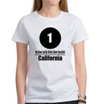 1 California (Classic) Women's T-Shirt