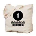 1 California (Classic) Tote Bag