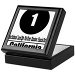 1 California (Classic) Keepsake Box