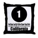 1 California (Classic) Throw Pillow