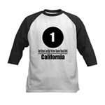 1 California (Classic) Kids Baseball Jersey