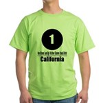 1 California (Classic) Green T-Shirt