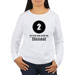 2 Clement (Classic) Women's Long Sleeve T-Shirt