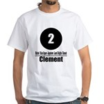 2 Clement (Classic) White T-Shirt