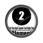 2 Clement (Classic) Wall Clock