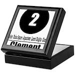 2 Clement (Classic) Keepsake Box