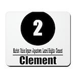 2 Clement (Classic) Mousepad