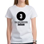 3 Jackson (Classic) Women's T-Shirt