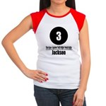 3 Jackson (Classic) Women's Cap Sleeve T-Shirt