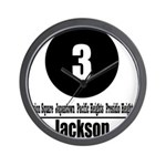 3 Jackson (Classic) Wall Clock