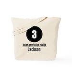 3 Jackson (Classic) Tote Bag