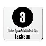 3 Jackson (Classic) Mousepad