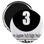 3 Jackson (Classic) Magnet