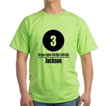 3 Jackson (Classic) Green T-Shirt