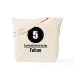 5 Fulton (Classic) Tote Bag
