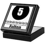 5 Fulton (Classic) Keepsake Box