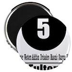 5 Fulton (Classic) Magnet