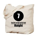 7 Haight (Classic) Tote Bag