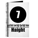 7 Haight (Classic) Journal