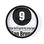 9 San Bruno (Classic) Wall Clock