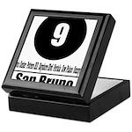 9 San Bruno (Classic) Keepsake Box