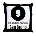 9 San Bruno (Classic) Throw Pillow