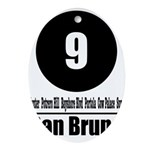 9 San Bruno (Classic) Oval Ornament