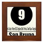 9 San Bruno (Classic) Framed Tile