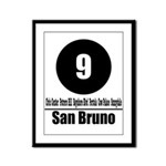9 San Bruno (Classic) Framed Panel Print