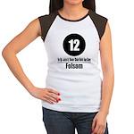 12 Folsom (Classic) Women's Cap Sleeve T-Shirt