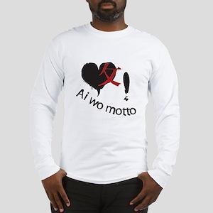Japanese Dark Heart Long Sleeve T-Shirt