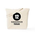 12 Folsom (Classic) Tote Bag
