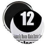 12 Folsom (Classic) Magnet