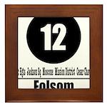 12 Folsom (Classic) Framed Tile