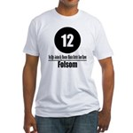 12 Folsom (Classic) Fitted T-Shirt