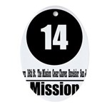 14 Mission (Classic) Oval Ornament