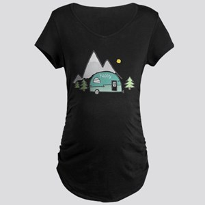 Happy Camper Maternity T-Shirt