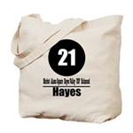 21 Hayes (Classic) Tote Bag