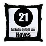 21 Hayes (Classic) Throw Pillow