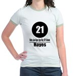 21 Hayes (Classic) Jr. Ringer T-Shirt