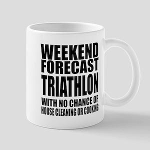 Worlds Okayest Triathlon Player 11 oz Ceramic Mug