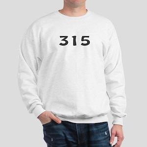 315 Area Code Sweatshirt