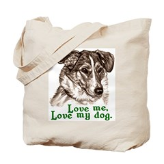 Love My Smooth Collie Tote Bag