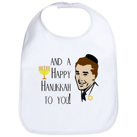 And a Happy Hanukkah to You! (Man) Bib