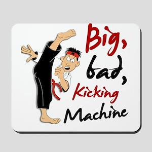 Funny Kicking Man 3 Mousepad