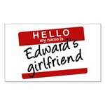 Twilight - Edward's Girlfrien Rectangle Sticker