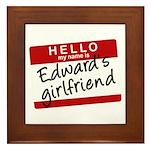 Twilight - Edward's Girlfrien Framed Tile