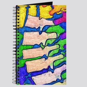 Colorful Spine Art Journal